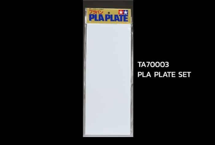 ชุดแผ่นพลาสติก TAMIYA 70003 PLA PLATE SMALL SIZE SET