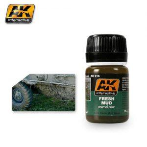 สีทำดินเปียก AK016 FRESH MUD