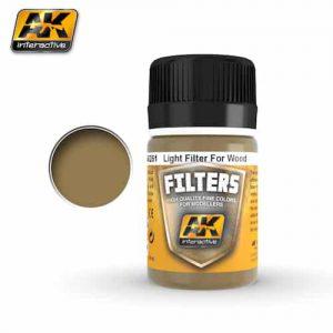 สีโทนดินสีเหลือง AK261 OCHER FOR SAND / LIGHT FILTER FOR WOOD