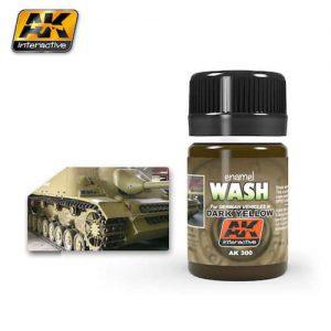 จำหน่าย สีวอช ( รถถังเหลืองเข้ม) AK300 DARK YELLOW WASH