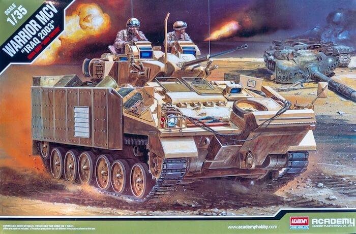 โมเดลรถถัง Academy WARRIOR MCV [IRAQ 2003] 1/35