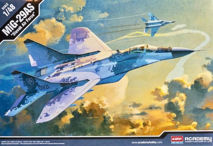 โมเดลเครื่องบิน MIG-29AS [Slovak Air Force] 1/48