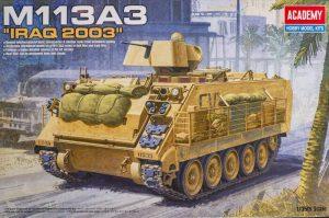 โมเดลรถถัง Academy M113A3 [IRAQ 2003] 1/35