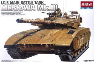 โมเดลรถถัง Academy Merkava Mk.III 1/35