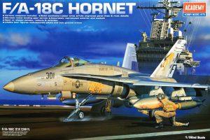 โมเดลเครื่องบิน Academy F/A-18C HORNET 1/32