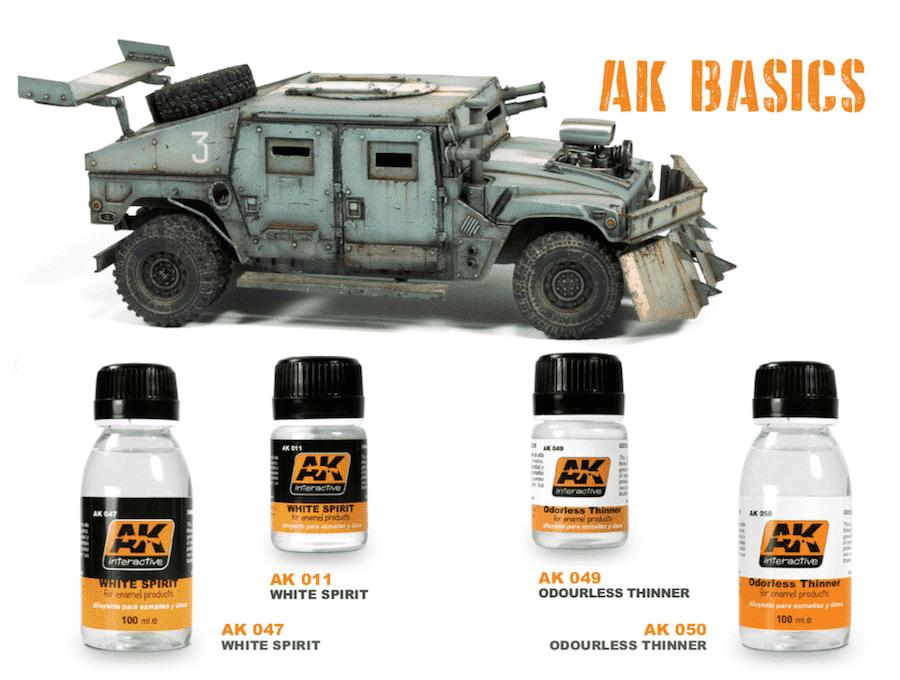 AK Basic Thinner (ทินเนอร์)
