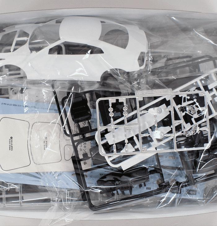 โมเดลรถยนต์ LB WORKS R35 GT-R VER.2 สเกล 1/24