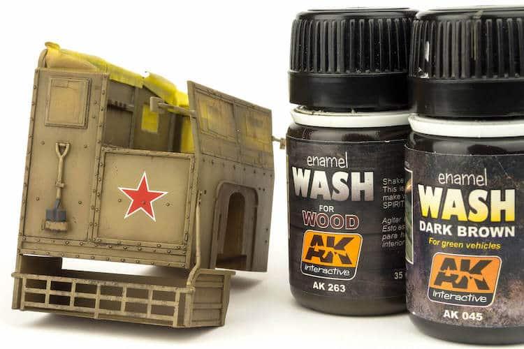 Ak Washes (สีสำหรับวอช)
