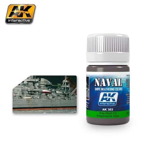 สีวอช ( เรือเยอรมัน ) AK303 GREY WASH FOR KRIEGSMARINE SHIPS