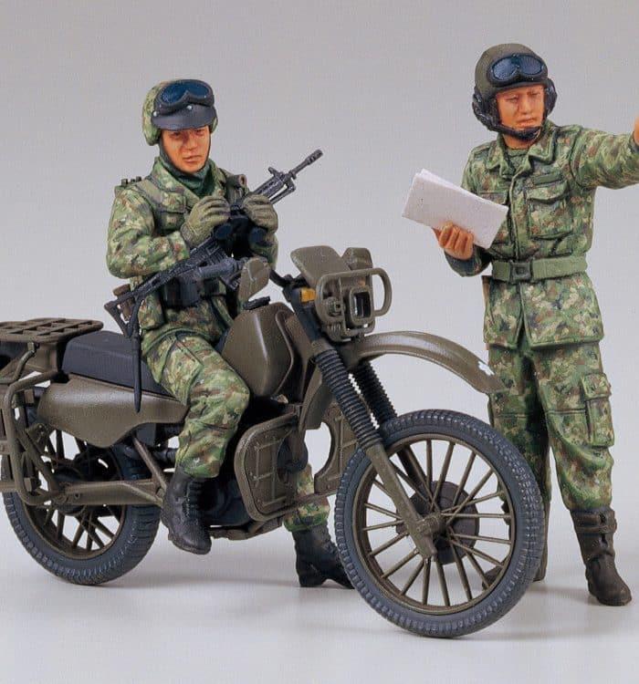 ฟิกเกอร์ JAPAN GROUND MOTORCYCLE RECONNAISSANCE SET