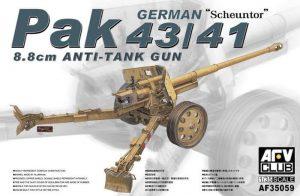 โมเดลปืนใหญ่ PAK 43/41 GERMAN 8.8 cm ANTI-TANK GUN 1/35