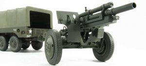 โมเดลปืนใหญ่ 105mm HOWITZER M2A1 & CARRIAGE M2 1/35