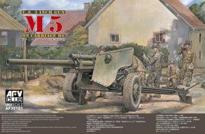 โมเดลปืนใหญ่ U.S. 3 INCH GUN ON CARRIAGE M6 1/35