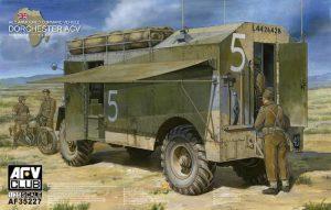 โมเดลรถพ่วงหุ้มเกราะ AEC COMMAND VEHICLE DORCHESTER 1/35