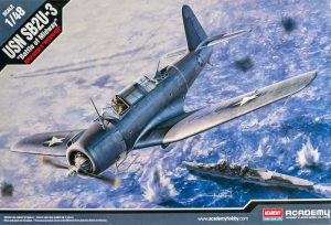 """โมเดลเครื่องบิน USN SB2U-3 """"Battle of Midway"""" 1/48"""