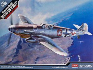 โมเดลเครื่องบิน Bf 109G-6G-2 1/48