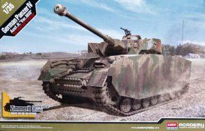โมเดลรถถังแพนเซอร์ German Panzer IV Ausf.H Ver.MID 1/35