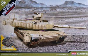 โมเดลรถถัง U.S.ARMY M1A2 V2 TUSKⅡ 1/35