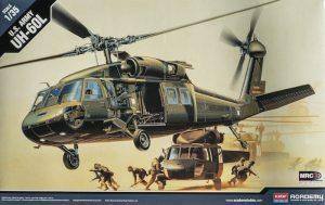 โมเดลเฮลิคอปเตอร์ UH-60L BLACK HAWK(1/35)