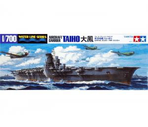 โมเดลเรือบรรทุกเครื่องบิน Taiho Aircraft Carrier Kit 1/700