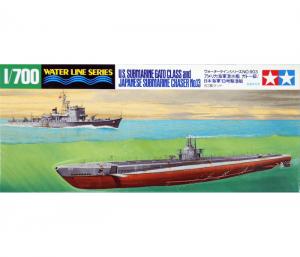โมเดลเรือดำน้ำ Submarine Gato Class & IJN Submarine Chaser No.13