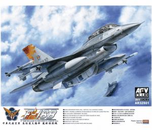 โมเดลเครื่องบิน บ.ข.19ก. F-16B Bloack 20 (ROCAF) 1/32