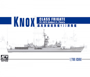 โมเดลเรือพิฆาตอเมริกัน KNOX CLASS FRIGATES 1/700