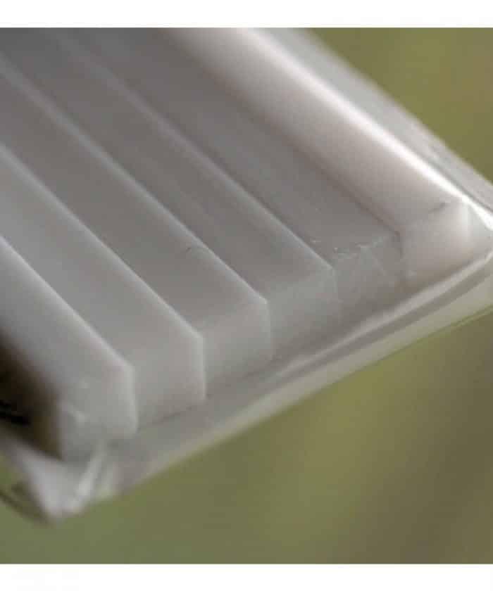 พลาสติกเส้น (ทรงเหลี่ยม) PLASTIC BEAMS 5mm SQUARE (6 ชิ้น.)