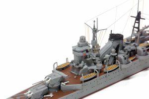 โมเดลเรือลาดตระเวณหนัก Suzuya Heavy Cruiser 1/700
