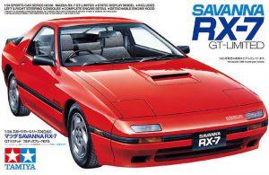 โมเดลรถมาสด้า MAZDA RX-7 Savanna GT-LIMITED 1/24