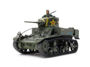 โมเดลรถถัง M3 STUART LATE PRODUCTION 1/35