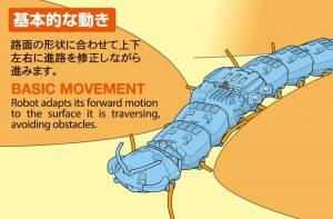 โมเดลหุ่นยนต์ตะขาบ CENTIPEDE ROBOT