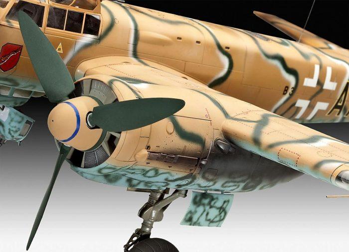 โมเดลเครื่องบิน ทิ้งระเบิด Junkers Ju 88A-4 (1/32)