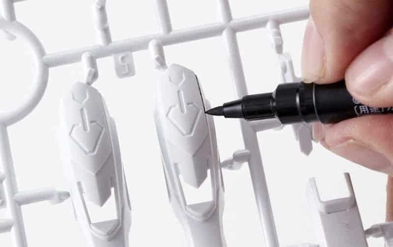 ปากกาตัดเส้น Gundam Marker