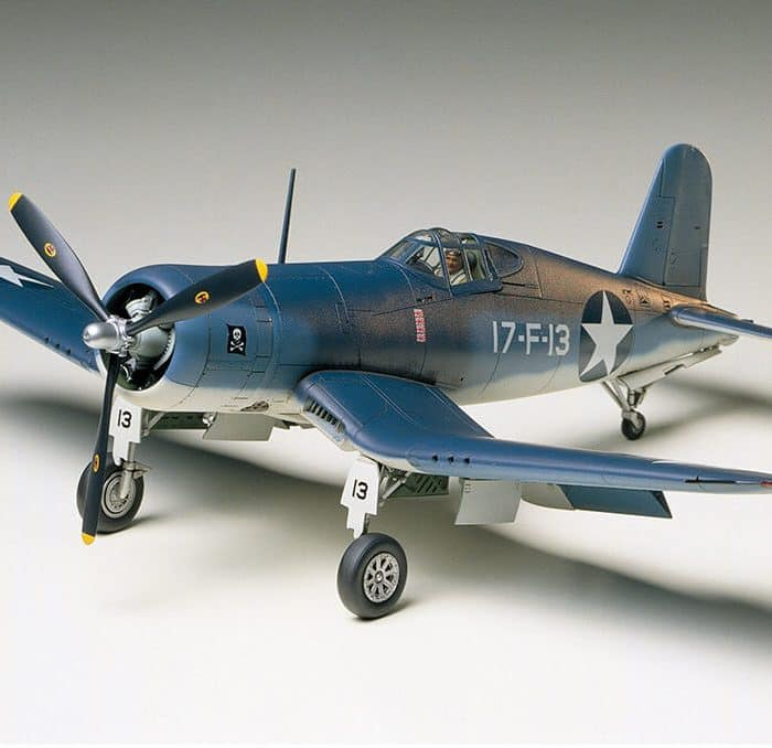 โมเดลเครื่องบิน C.V.F4U-1/2 BIRD CAGE CORSAIR 1/48