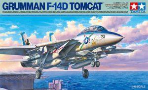 โมเดลเครื่องบิน Grumman F-14D Tomcat 1/48