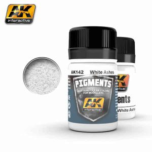 AK142 WHITE ASHES PIGMENT