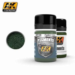 AK148 FADED GREEN PIGMENT