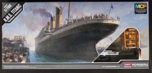 โมเดลเรือไททานิก R.M.S. TITANIC 1/700 MCP (ทำสีแล้ว)