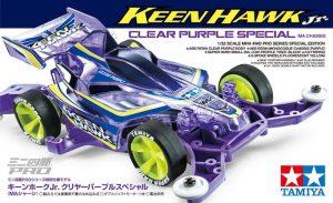 ทามิย่า มินิโฟล์วิล MINI 4WD JR KEEN HAWK CLEAR PURPLE SP.