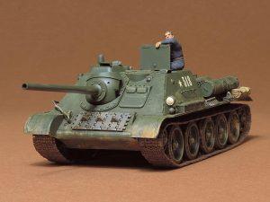 โมเดลรถถัง RUSSIAN TANK DESTROYER SU-85