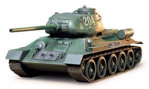 โมเดลรถถัง RUSSIAN TANK T34/85