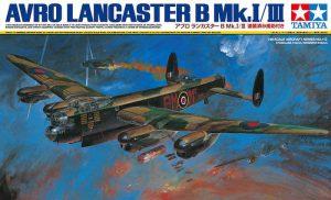 โมเดลเครื่องบิน TAMIYA AVRO LANCASTER B Mk.Ⅰ/Ⅲ 1/48