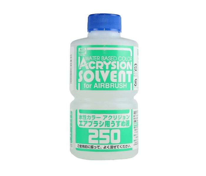 จำหน่าย ทินเนอร์ผสม สีสูตรน้ำ T314 Acrysion Sovent 250ml