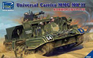 โมเดลรถถัง Universal Carrier MMG Mk.II