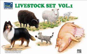 โมเดลสัตว์โลกน่ารัก Livestock Set Vol.1
