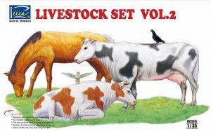 โมเดลสัตว์โลกน่ารัก Livestock Set Vol.2