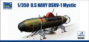 โมเดลยานพาหนะช่วยชีวิตน้ำลึก U.S.Navy Deep DSRV-1 Mystic