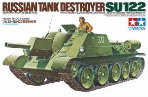โมเดลรถถัง RUSSIAN SU-122 สเกล 1/35