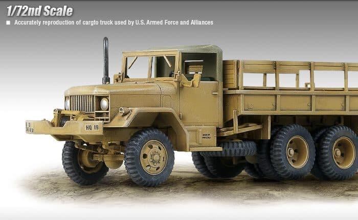 รถทหาร ACADEMY 13410 U.S.M35 2.5ton CARGO TRUCK (1/72)